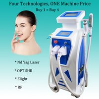 Wholesale laser hair removal free resale online - Nd Yag Laser Eyebrows Tattoo Removal Machine OPT Elight Hair Removal rf skin lifting equipment