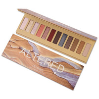 glitzer make-up-kits großhandel-UCANBE Marke 12 Farben Lidschatten-Palette Make-up Kit Glitter Shimmer Matt pigmentiertes Pulver Langlebige Nude Eye Cosmetics