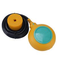 interruptor de nível flutuar venda por atacado-EM15-3 2M Água nível Controlador Float Mudar Líquido Switches Líquido Fluido de Nível de Água Float Mudar Controlador Contactor Sensor