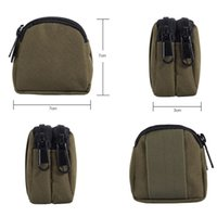 Wholesale waterproof mini waist bag resale online - Outdoor Camping Military Tactical Waist Pockets Nylon Fashion Waterproof Mini Sports Pockets Camouflage Tactical Waist Bag BH0820 TQQ