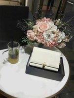 ingrosso sacchetto di nappa bianco-borse griffate Y catena borsa borse delle donne della spalla del progettista nappa borse di lusso del sacchetto di spalla di modo della borsa bianca