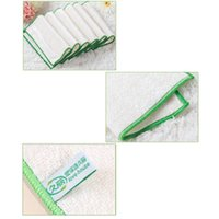 Wholesale fiber dish for sale - Group buy Soft Fiber Kitchen Towels Dish Cloth cm Non oiled Absorbent Home Cleaning Wiping Rags Scouring Pad