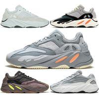 Wholesale table tennis shoes size 45 resale online - 700 Wave Runner Running Shoes Men Women Tephra Inertia Mauve Static Salt Geode Black White Kanye West Designer Sport Sneaker Size