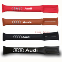 audi a4 asientos al por mayor-Estilo del coche Asiento Ranura Tapón Tapón Tapón Gap Relleno Espaciador Acolchado Para Audi RS SLine A3 A4 A5 A6 Q3 Q5 Q7 Etiqueta
