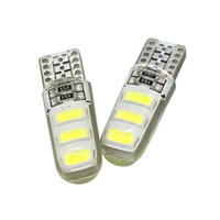 168 ampoules achat en gros de-12V W5W 168 194 Liquidation Canbus Ampoules T10 5630 6SMD Côté voiture dôme marqueur Numéro de plaque d'immatriculation Lumière Lampe de lecture