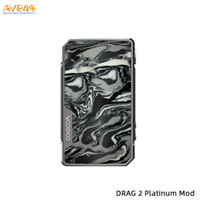 ingrosso casella di anticipo-Voopoo Trascina 2 Platinum versione 177W TC Box Mod alimentato da Dual 18650 Batterie Advanced GENE.FIT Chip 100% originale