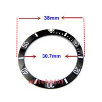38mm size ceramic bezel Repair Tools watch accessories Lv LN watches part repairmen watchmark man wristwatches