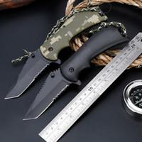 3cr13 paslanmaz çelik bıçak toptan satış-Taşınabilir Katlama bıçak 3Cr13 Blade Taktik Cep Bıçak Hunt Paslanmaz Çelik Açık Survival Kamp Aracı Katlanır Bıçaklar Peeler