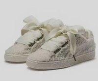 precios de tablero al por mayor-2019 buen precio Basket Heart Teddy Coil parte superior Ribbon Bowtie Board shoes, ladies running shoes for women, las mejores tiendas de compras en línea para la venta