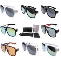 neue modebrillen für männer großhandel-Mode Neue Sonnenbrille Platz Verspiegelten Sonnenbrille Luxus Designer Gläser Für Männer Klassische Beschichtung Bootfahren Brille K5