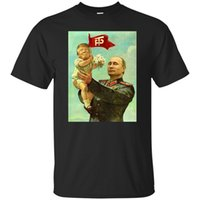 Wholesale black baby tees for sale - Group buy Funny Baby Trump Putin T Shirt Men S Black Navy Size S Xl Gift Funny Tee Shirt