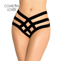 Comeonlover Plus Size Sexy Panties Sexy Cage Bandage Brief Women Thong Underwear Panties Hot Sale High Waist Panties Pi5100 T9190616