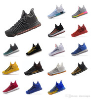 on sale 99d12 45429 Mens KD 9.5 shoes kds elite PK80 Black Gold Aunt Pearl BHM Blue White  Yellow MVP USA Oreo Kevin Durant kd9 ix elite sneakers tennis with box