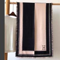 tops de hilo al por mayor-Nuevo Bufanda de diseño de algodón suave teñido con hilo de jacquard con diseño superior bufanda de diseñador chales para hombres y mujeres 180 * 70 cm 2-1688954 DZX