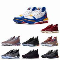 online retailer 49b5d eee3b 2019 neueste Lebrons 16 Basketballschuhe Männer Lebron Schuhe Sneaker 16s  Herren Sportschuhe James US Größe 7-12