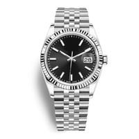 relógios plásticos de tela de toque venda por atacado-Top 41mm Datejust Master Man relógio mecânico automático Relógios de Aço Inoxidável Negócios Moda Original Fecho Presidente Mens relógios de Pulso rolex