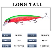 Wholesale japan minnow lure for sale - Group buy Minnow Fishing Lure D Eyes Floating Japan Pesca Crankbait