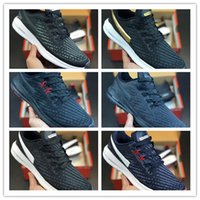 Wholesale new soccer shoes design resale online - 2019 New Arrive ZOOM STRUCTURE Hollow Knitted Surface Design Running Shoes Men Oreo Runner Sports Jogging Sneakers SIZE
