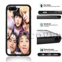 мальчики телефонные чехлы оптовых-BTS Корейский Kpop Band Палец Сердце Bangtan BoyS South F3 JungKook Jimin Jung Kook SDEG Чехол для телефона для iPhone Samsung iX 6/7/8 XR MAX Plus SE