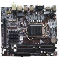 intel i7 1156 großhandel-Hauptplatine 1156 Intel H55 LGA1156 Sockel H für Intel Core i3 i5 i7 Pentium Celeron CPU