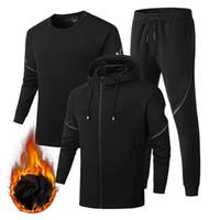 kıyafet tasarımcıları toptan satış-Tasarımcı Tracksuits Erkekler Marka Tasarımcı Spor TopsPants Suits Logo Moda Sonbahar Erkekler Kapüşonlular Marka Tişörtü Sıkıştırılmış Erkek Giyim