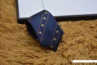 ingrosso piccola cravatta nera-Legami dei mens di marca Uomo Moda Piccola ape Cravatte Hombre Gravata Slim Cravatta Classic Affari banchetto della festa nuziale casuale nero cravatta per gli uomini