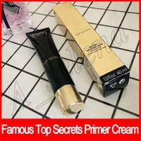 Wholesale instant bulbs for sale - Famous Brand Face Makeup Top Secrets Foundation Primer Cream Instant Moisture Glow Hydratant Eclat Instantane Foundation BB cream ML