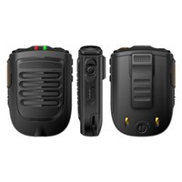 Wholesale gps for touch dual resale online - UNIWA BM001 Zello Walkie Talkie Handheld Wireless Bluetooth PTT Hand Microphone for Alps F40 F22 F25 Mobile Phone SOS Button