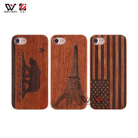 Wholesale iphone xr flag case for sale – best Bear Flag Eiffel Tower Design TPU Wooden Cell Phone Cases For iPhone Plus X XR XS Pro Max