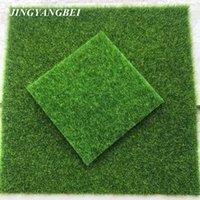 ingrosso tappeto falso-Micro Paesaggio Decorazione Fai Da Te Mini Fata Giardino Simulazione Piante Artificiale Falso Muschio Decorativo Prato Erba Verde Erba C19041302