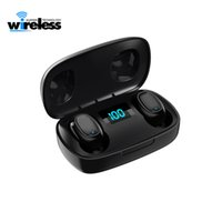 Wholesale wireless headphones mobile for sale - Group buy Digital LED Wireless Bluetooth Earphones T10S Wireless earbuds Headset Stereo Surround Headset for mobile phone headphones