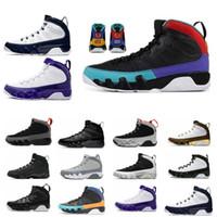 Wholesale dream shoes resale online - New Sale Racer Blue Citrus IX s mens basketball shoes Dream It do it UNC LA Oreo Bred space jam men sports Sneakers