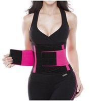 cuerpo recortado al por mayor-Cinturón de entrenamiento de cintura unisex para hombres y mujeres Cintura Trimmer Cincher Slimming Body Shape Sports Adjustable Belt 2018