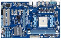 материнская плата fm1 оптовых-Оригинальная материнская плата Gigabyte GA-A55-S3P Разъем FM1 DDR3 A55-S3P USB2.0 32 ГБ SATA II A55 Настольная материнская плата Бесплатная доставка