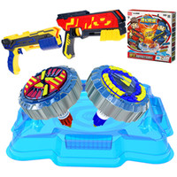 Wholesale beyblade toys launcher resale online - Beyblade fidget spinner Gun engin Beyblades Metal Fusion Arena D bey blade Launcher Spinning Top Beyblade Toys For kids toys