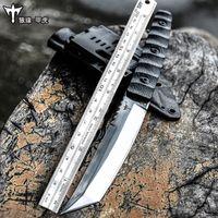 facas da selva venda por atacado-Voltron D2 aço forças especiais faca de sobrevivência selvagem, ao ar livre de auto-defesa faca reta, faca de sobrevivência na selva