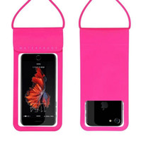 Wholesale storage phone cases for sale – best Universal PU Cover Waterproof Phone Case For iPhone S Plus Coque Pouch Waterproof Bag Case For Samsung Galaxy S8 Swim Waterproof Case