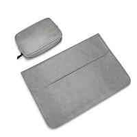 macbook pro luva impermeável de 13 polegadas venda por atacado-Manga notebook impermeável 12 13.3 15 15.4 polegadas bolsa de laptop bolsa de couro capa para macbook air pro 13 15 case
