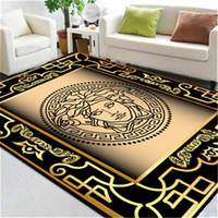 chá vivo venda por atacado-Deusa Imprimir Design Tapete Nórdico Sala de estar Mesa de Chá Sala de Carpetes Quarto Grande Área Doméstica Uso Tapete