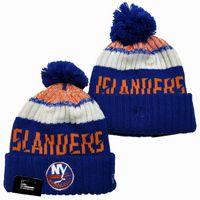 Wholesale basketball ny resale online - New Beanies NY Islanders Hockey Hot Knit Beanie Pom Knit Hats Navy Baseball Football Basketball Sport Beanies Mix Match Order All Caps
