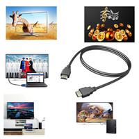 video 2m venda por atacado-Cabos de vídeo cabo HDMI 1080 P 3D Cabo para TV HD LCD Laptop PS4 Xbox Projetor Computadores Cabo 2 M 3 M 5 M