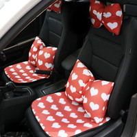 Wholesale auto travel accessories for sale - Group buy Interior Auto Accessories Headrest Neck Support Pillow Travel Pillow Seat Lumbar Support Cushion Breathable Seat Cover Cushion