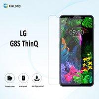ingrosso pellicola dello schermo di lg l9-Per LG G8S ThinQ Vivo iqoo neo z1 pro Pellicola proteggi schermo in vetro temperato con pacchetto