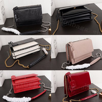 Wholesale black patent bag resale online - 2020 brand fashion caviar designer bags women luxury handbags purses Genuine Leather designer crossbody bag lady tote bags with box
