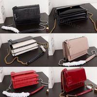 cüzdanlar toptan satış-2020 marka moda havyar tasarımcı çantaları kadınların lüks çanta cüzdan kutusu ile Gerçek Deri tasarımcı crossbody çanta bayan çanta torbaları