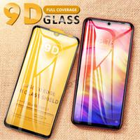 xiaomi koruyucusu toptan satış-LCD 9D Temperli Cam Xiaomi Redmi Için Not 5 6 7 Pro 6PRO 5.84 artı Küresel Ekran Koruyucu 6A Koruyucu Cam Filmi