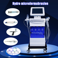 Wholesale hydro water dermabrasion peeling diamond microdermabrasion for sale - 2019 New in1 Hydro Dermabrasion Facial Machine Water oxygen jet Peeling Diamond Microdermabrasion Machine Facial Care Skin Rejuvenation