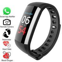 relógios de pulso venda por atacado-Inteligente Pulseira G19 Pulsometer relógio inteligente Blood Pressure aptidão Relógios pedômetro inteligente Pulseira Atividade Wrist Band Tracker para celular