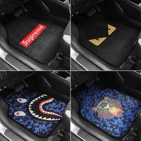 lieferungen für die reinigung großhandel-Auto liefert Universal-Fußmatte einfache Anti-Rutsch-Matte Auto Teppiche wasserdichtes Flut Marke Wildleder reinigen Passend für alle Autos