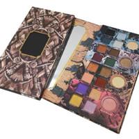 высокое качество теней для век оптовых-Бренд получил Game of Thrones Limited Edition Eye Shadow 20 Color Eyeshadow высококачественная косметика палитра теней для век на складе